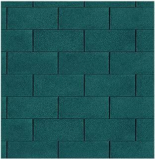 Gartenpirat paquete de tejas bituminosas color verde 3m² (