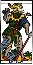 Posterazzi Tarot Card N'The Fool (Atonement).' Woodcut French Marseille 16Th Century. Poster Print by (18 x 24)