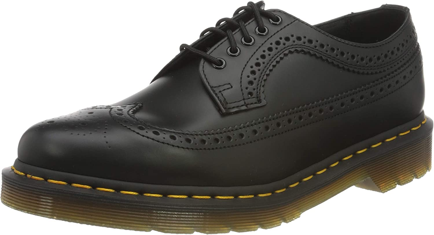 Dr. Martens Max 80% OFF 3989 Brogue Year-end gift BEX 3-Eye Wingtip Leather Shoe for Men