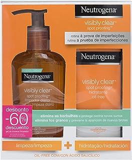 comprar comparacion Neutrogena Visible Clear Paquete Hidratante con Limpiador Diario y Crema Hidratante