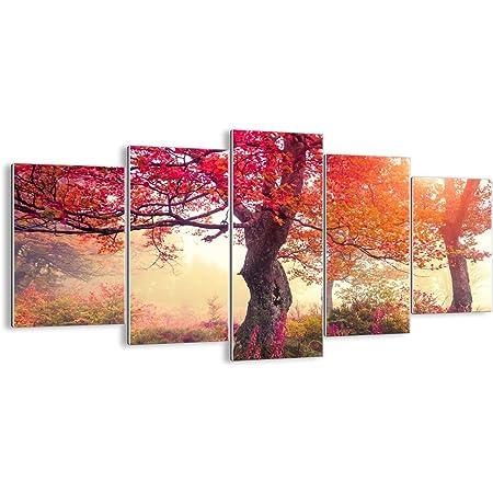 ARTTOR Tableau Decoration Murale Salon - Impression sur Verre - Toutes Tailles et Différents Thèmes Graphiques - Tableaux, Posters et Arts Décoratif - GEA160x85-3658