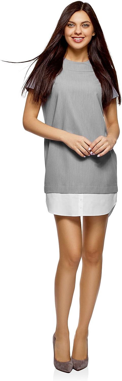 Oodji Ultra Women's Straight Combo Dress