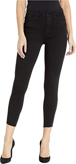 Stiletto High-Rise Skinny Crop Jeans in Ambrose