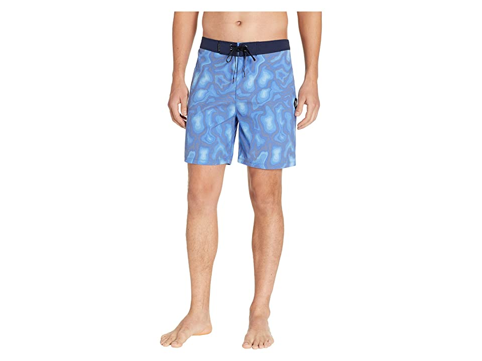 Hurley Topo 18 Boardshorts (Gym Blue) Men