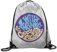 Funny Gene Wilder Willy Wonka Sport Backpack Drawstring Print Bag