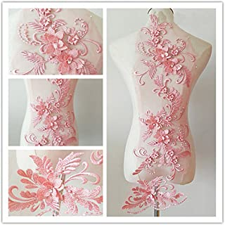 Best pink flower applique Reviews