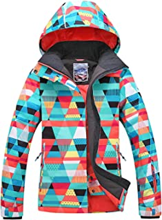 APTRO Women's High-Tech Fashion Ski Jacket Mountain Snowboard Rain Jacket
