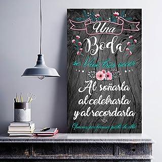 Amazon.es: carteles boda