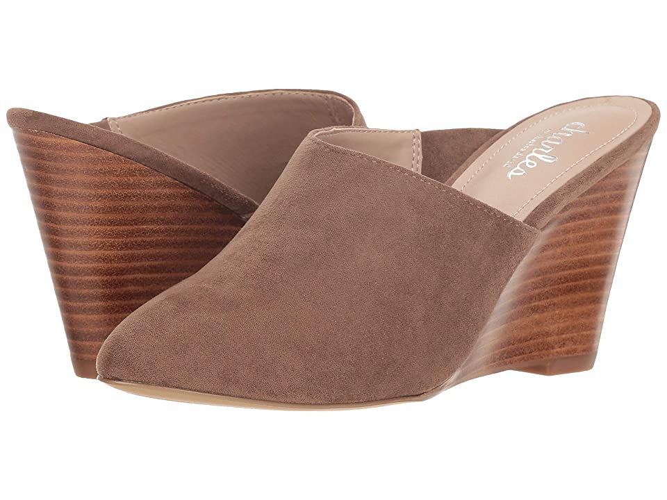 Charles by Charles David Ezequiel Slip-On Wedge Mule (Taupe) Women