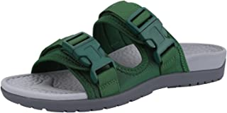 Everhealth Orthotic Sandals Women Buckle Slides with Arch Support for Plantar Fasciitis - Peep Toe Sandal Outdoor Slippers Ideal for Walking, Garden, Beach & Travel Activities (Helps Your Posture)
