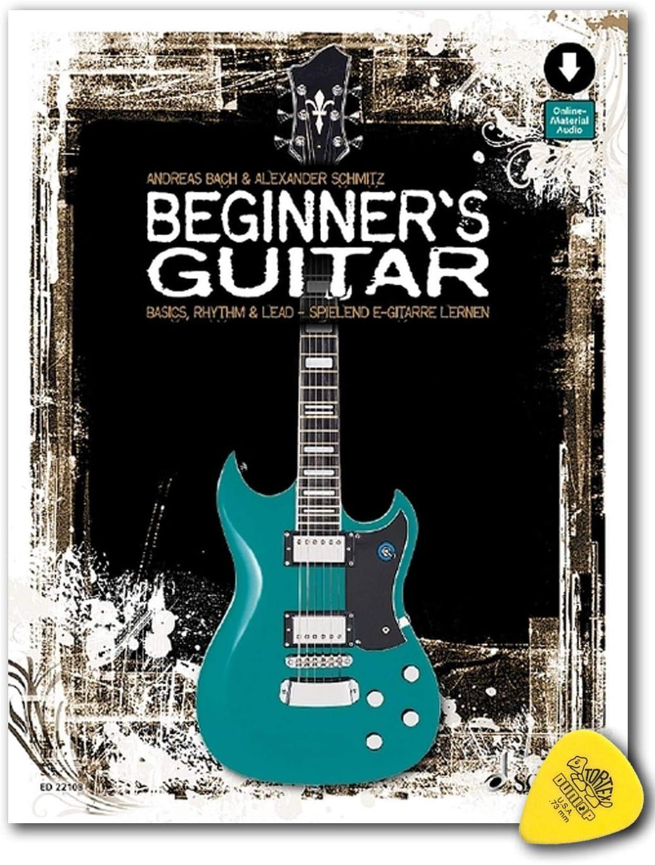 Beginner's Guitar Basics, Rhythm & Lead 9783795749408 - Libro de aprendizaje para guitarras eléctricas (podría no estar en español), diseño de guitarras eléctricas