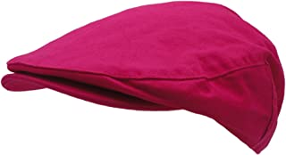 586fba19cbb Wonderful Fashion Men s Cotton Front Button Flat Cap Ivy Gatsby Newsboy  Hunting Hat