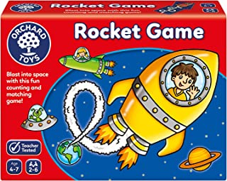 Orchard Toys Rocket Game, multi-colour, Board Game, 101655