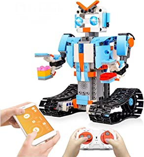 KELIWOW Building Blocks Robot Kit for Kids,Remote APP Control Robot Toys Engineering Science Educational Building Toys for 8,9-12 Year Old Boys and Girls