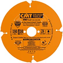 CMT Orange Tools 236.190.04M - Sierra circular para mat. abrasivos d 190x2.2x30 z4 dp