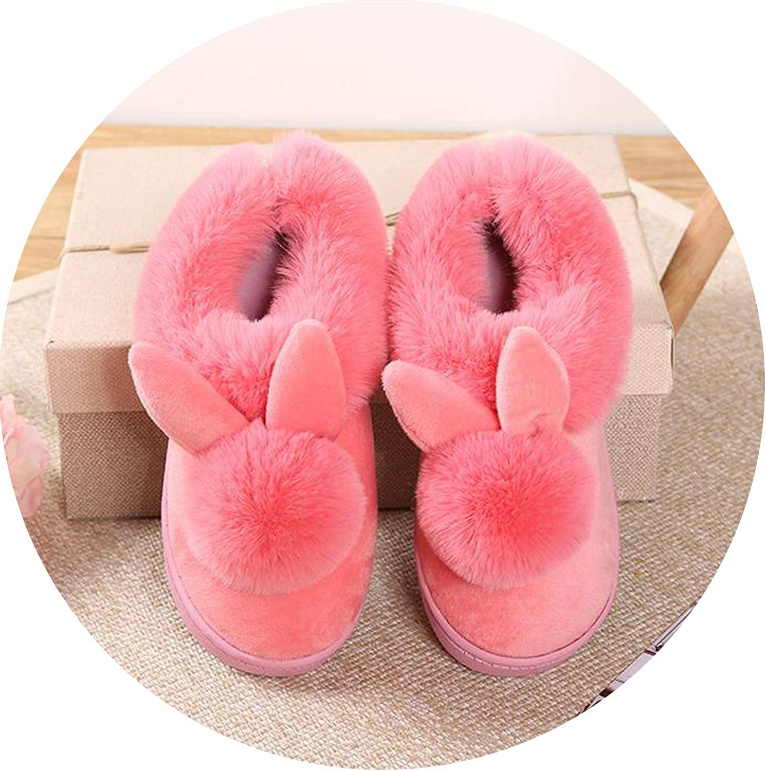 Winter Women Slippers Plush Home Casual Warm Animals Slippers House Cotton shoes