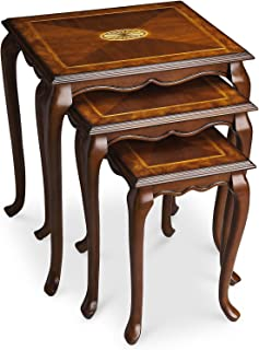 Nesting Tables - Blakely Inlaid Nesting Tables - Set of Three - Nest of Tables - Nested Tables