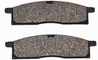 Cyleto Front Brake Pads for Yamaha YZ80 YZ 80 1986-2001 / YZ85 YZ 85 2002 2003 2004 2005 2006 2007 2008 2009 2010 2011 2012-2016