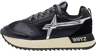 w6yz KIS-W.-Sneaker con Inserto Laminato
