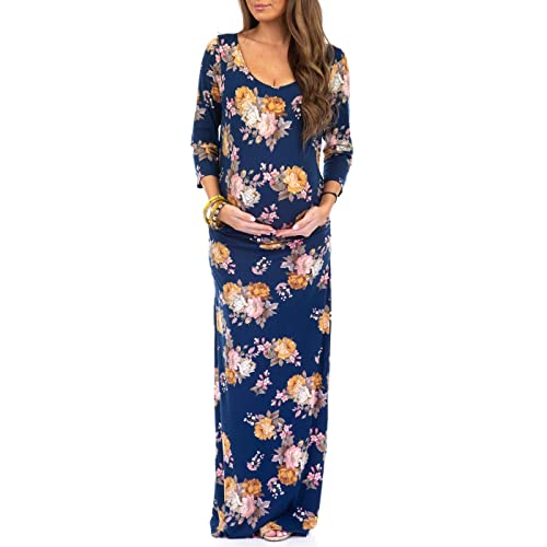 25a03ab6ea59 Women s Ruched Bodycon Maternity Dress in Regular and Plus Sizes - Made in  USA