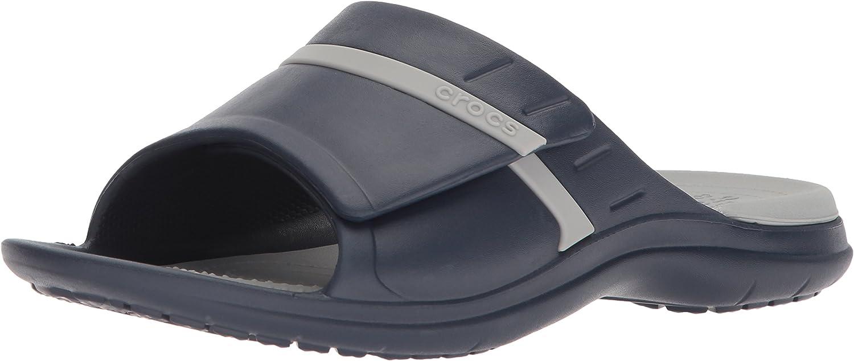 Crocs Men's and Women's Modi Sport Slide Sandals | Slip On Sandals for Men