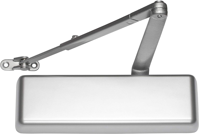 Sizes 1-6 Global Door Controls Heavy Duty Commercial Door Closer in Aluminum