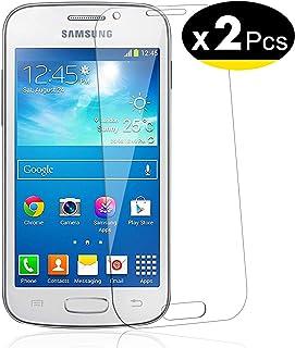 NEW'C 2 Unidades, Protector de Pantalla para Samsung Galaxy Core Plus, Vidrio Cristal Templado