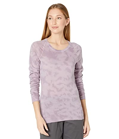 Smartwool Merino 150 Baselayer Long Sleeve (Dusk Marble Wash) Women