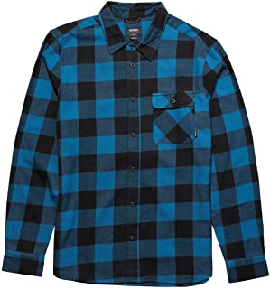 Mens Axel Flannel Button Up Short Sleeve Shirts