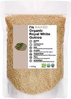 Naked Organic Royal White Quinoa, 450g