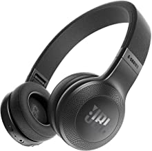 JBL Bluetooth Wireless On-Ear Headphones with One-Button Remote and Microphone, Black (Renewed)