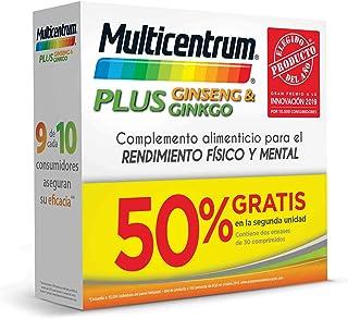 Multicentrum Plus Ginseng & Ginkgo - 60 Comprimidos