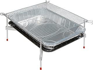 超軽量バーベキューグリルコンロ 『洗うものがないんです』BBQ-X 組み立て簡単 卓上型 バーベキューセット