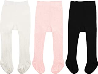 Zando Infant Soft Tights Toddler Seamless Leggings Tights...