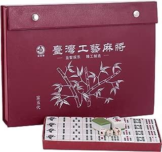 Canoe Mahjong - CT201216RJ80, Red