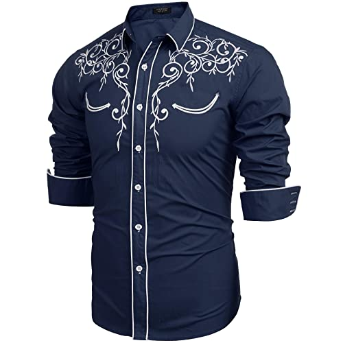 Men S Rockabilly Shirt Amazon Co Uk
