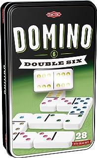 comprar comparacion Tactic Domino Double 6 Niños y Adultos Juego Juego de Tablero (Juego, Niños y Adultos, 20 min, Niño/niña, 5 año(s), 99 año...