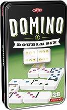 Tactic Domino Double 6 Niños y Adultos Juego Juego de Tablero (Juego, Niños y Adultos, 20 min, Niño/niña, 5 año(s), 99 año(s))
