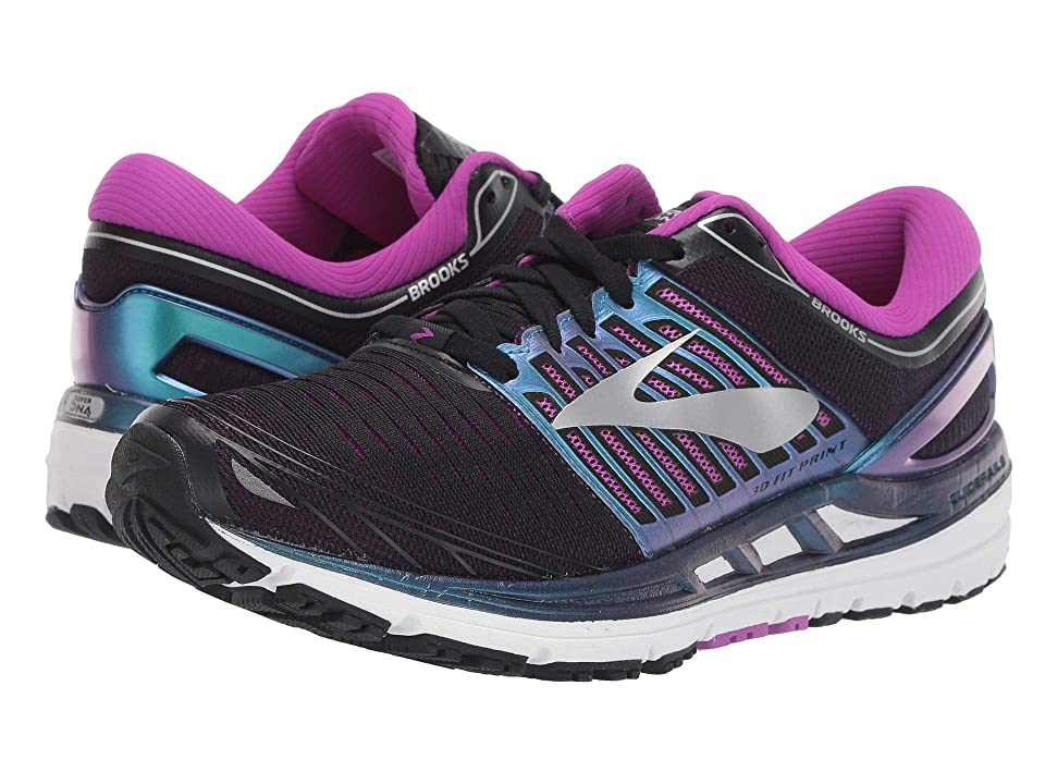 Brooks Transcend 5 (Black/Purple/Multi) Women