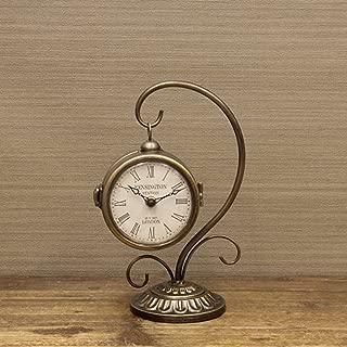 置時計 アンティーク ステーションクロック ボスサイドハンギング:int-ak-1520-10 (ブロンズ)