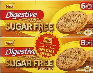 Nabil Digestive Sugar Free Biscuit, 2 x 250 gm