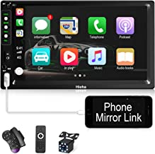 Hieha Double Din Car Stereo with Bluetooth Car Audio...