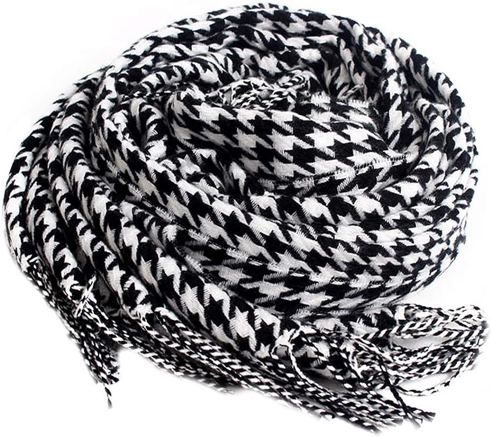 Sherry Warm Tartan Plaid Checked Scarf Women Fashion Cashmere Long Shawl Wrap
