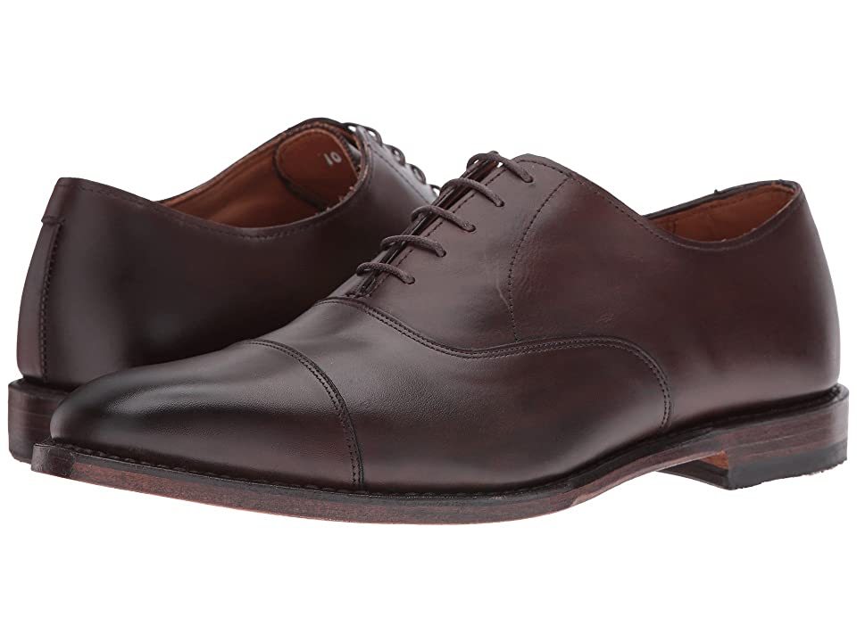 Image of Allen Edmonds Exchange Place (Brown Burnished Calf) Men's Shoes