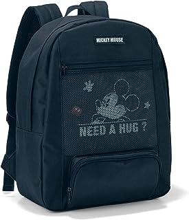 [ベルメゾン] ディズニー リュックサック レディース メッシュポケット付き ブラック