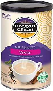 Oregon Chai Chai Tea Latte Powdered Mix, Vanilla, 10 Ounces