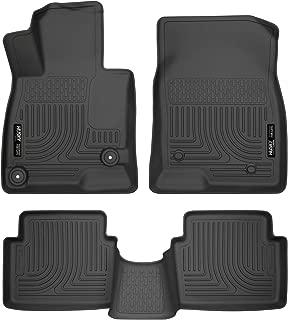 Husky Liners 98651 Black Combo Set Fits 2014-18 Mazda 3 Hatchback/Sedan