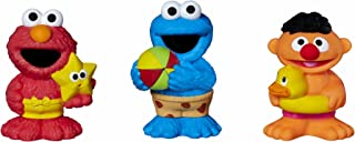 Sesame Street Bath Squirters, Bath Toys featuring Elmo, Cookie Monster and Ernie, Ages 12 Months - 4 Years Assortment (Amazon Exclusive)