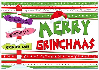 grinch whoville sign