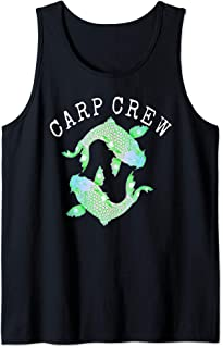 CARP CREW fishing, angling ideal birthday, Father's Day Tank Top